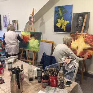 Malekursus i det abstrakte maleri - Kunst kursus