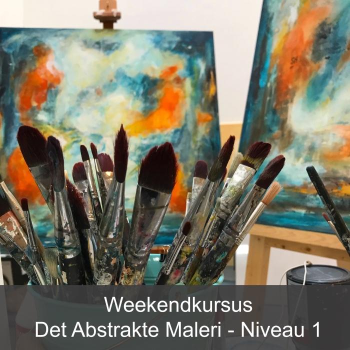 Malekurser i abstrakt maleri